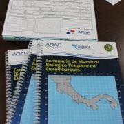 Formulario de muestreo biológico pesquero en desembarque,.
